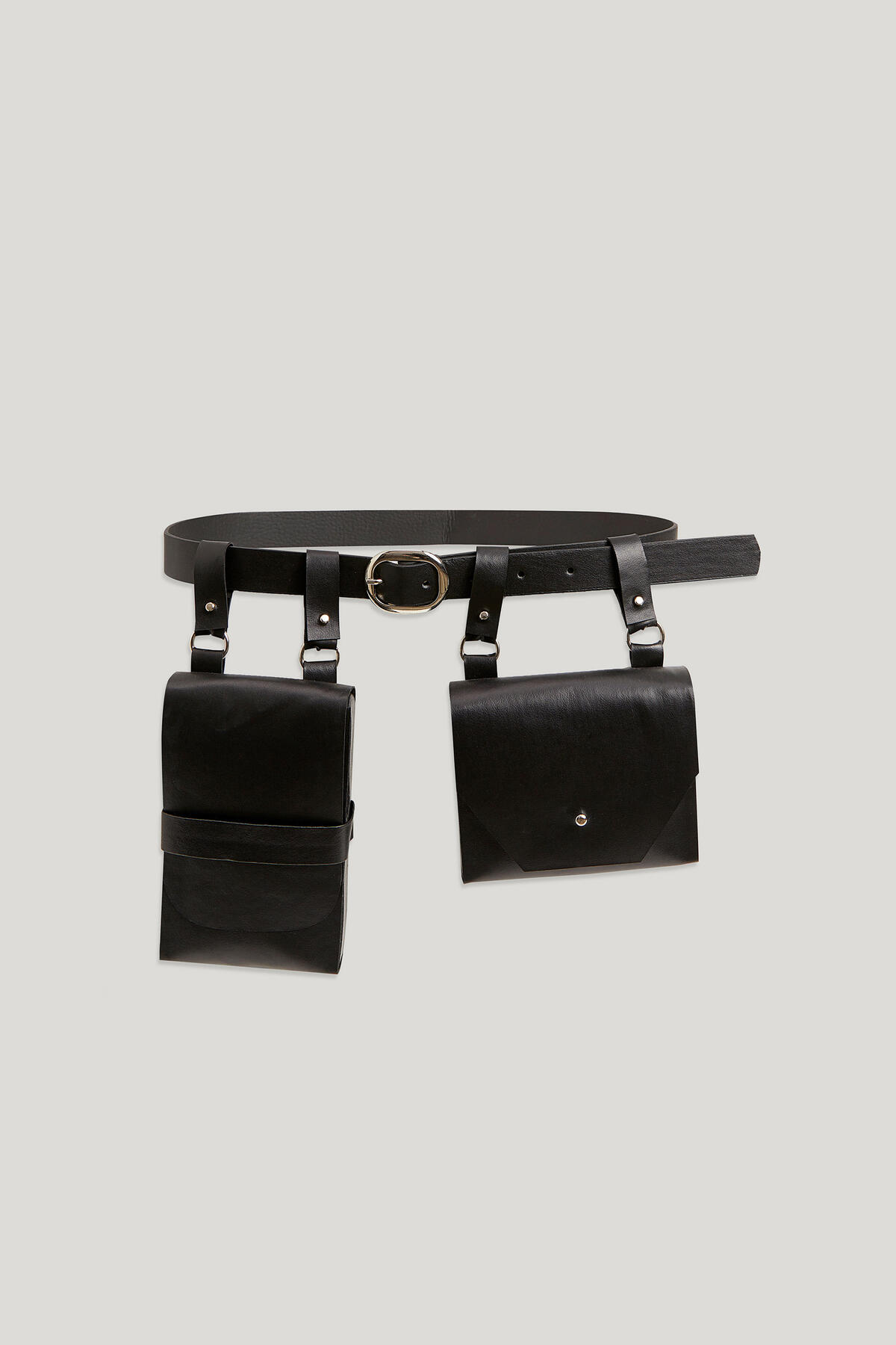 Kevser Sarıoğlu - BELT WITH CLOSURE BAG