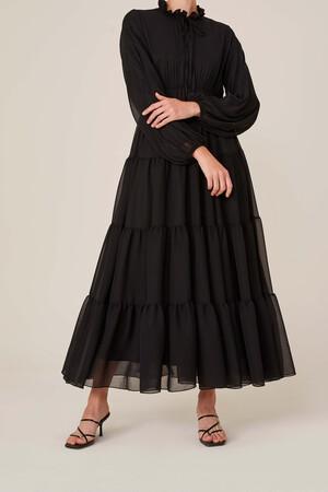 DOUBLE LINED DRESS - Thumbnail