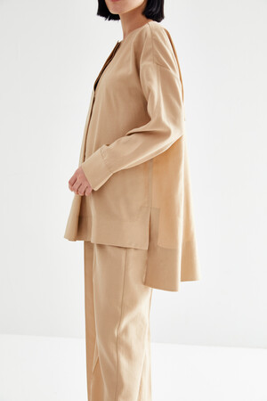 BASIC PLEATED SUIT - Thumbnail