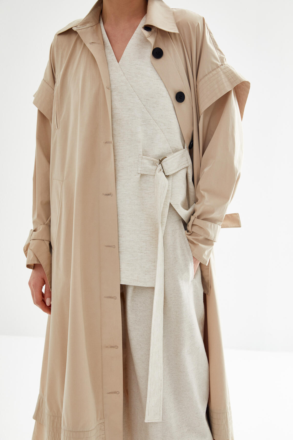 Kevser Sarıoğlu - WATERPROOF WIND TRENCH COAT