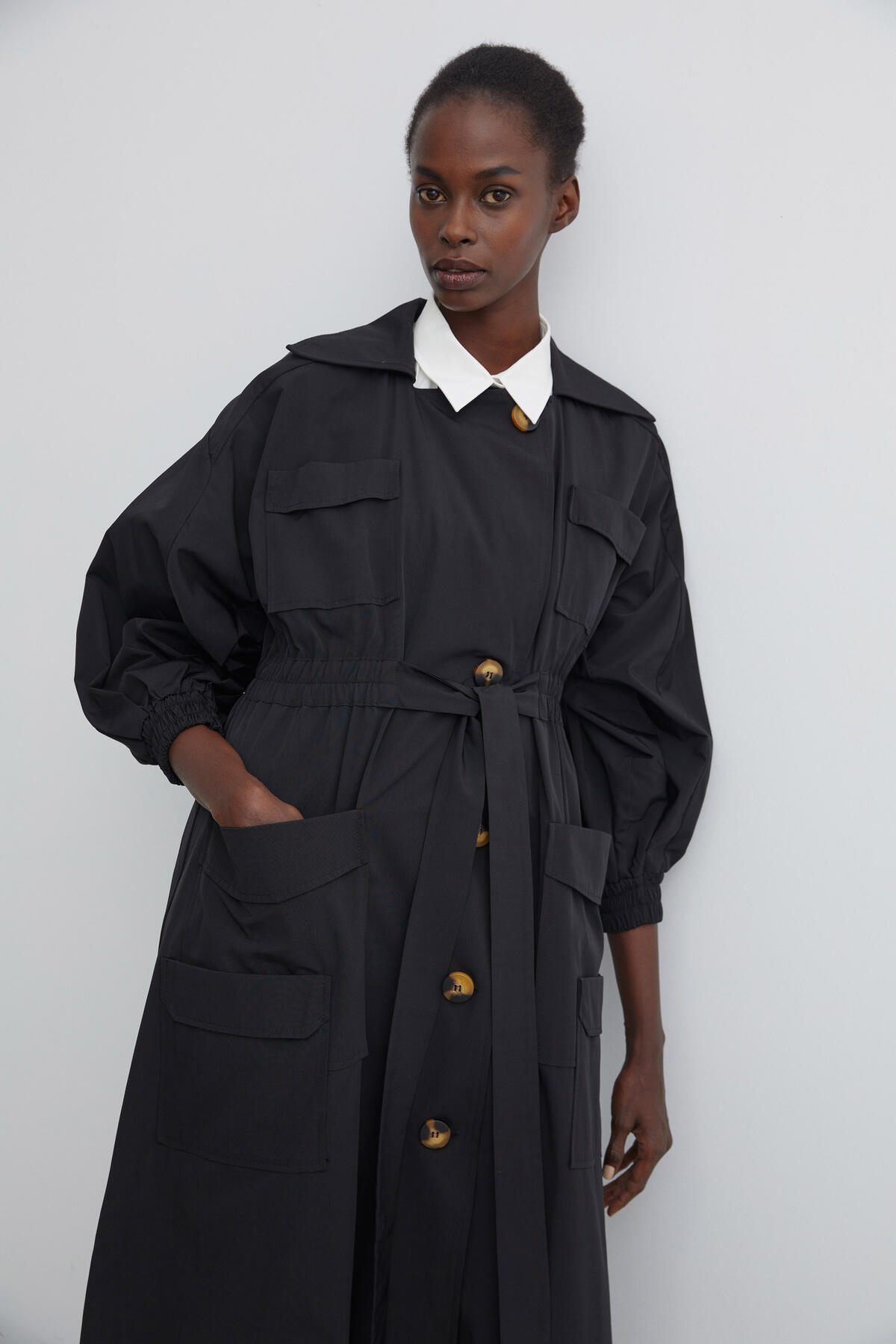 Kevser Sarıoğlu - LIMITED EDITION - POCKET TRENCH COAT