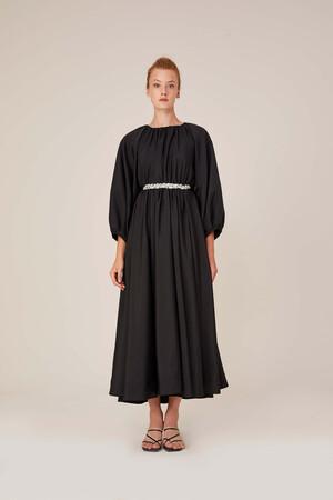 SHINY STONE BELT DRESS - Thumbnail