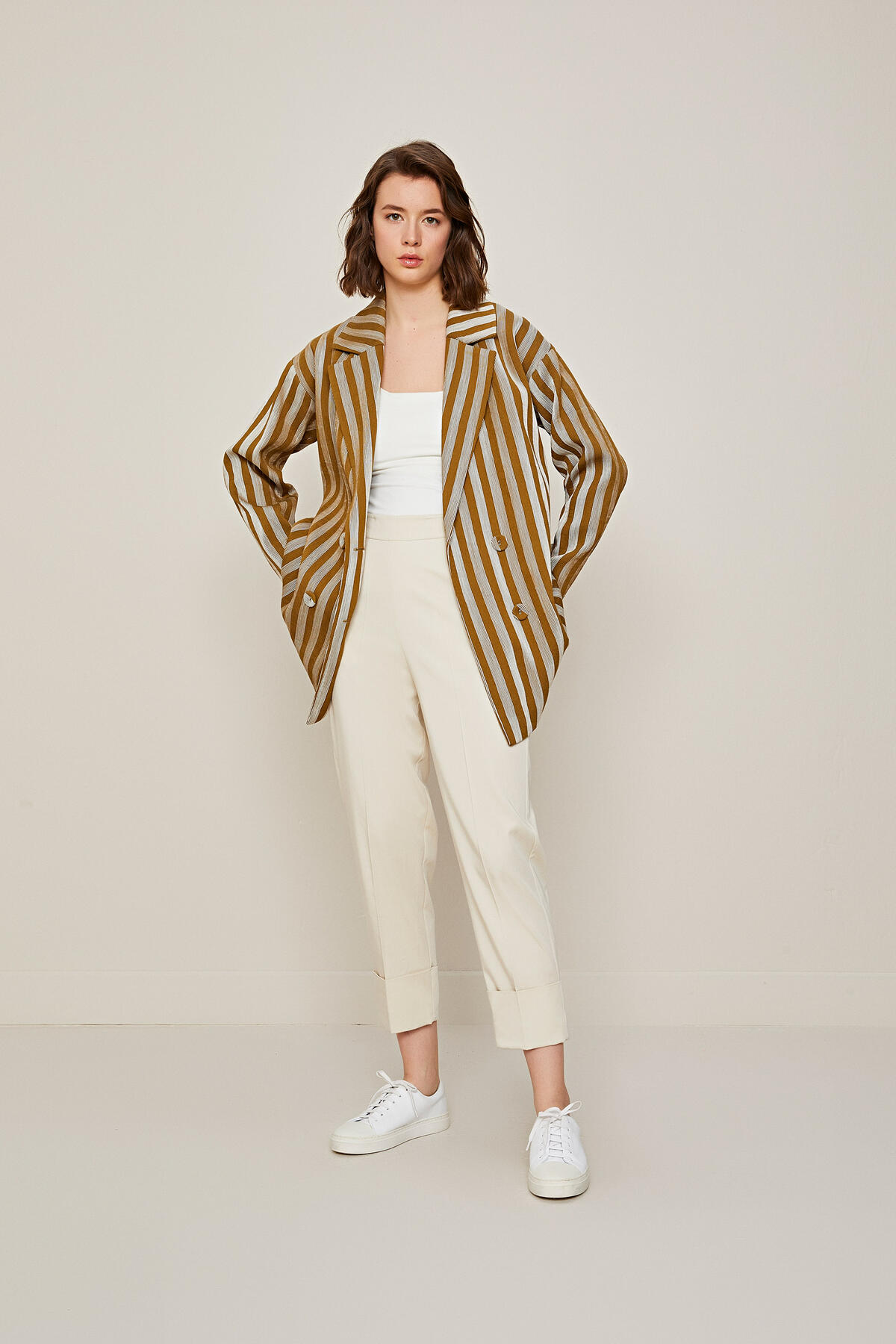 STRIPED CLASSIC JACKET